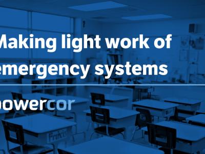 Emergency Lighting Systems - Making Light Work of Emergency Lighting systems