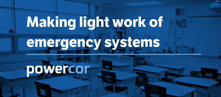 Emergency Lighting Systems - Making Light Work of Emergency Lighting systems