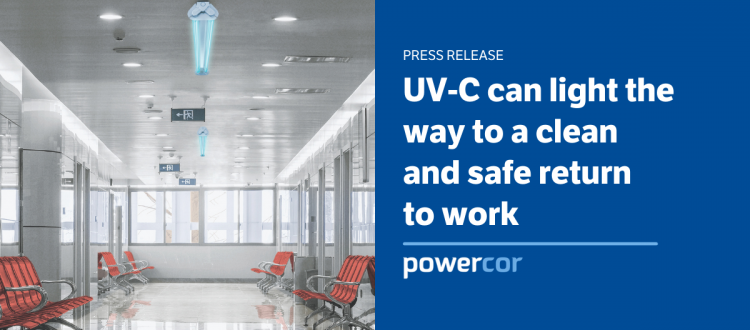UV-C can light the way to a clean and safe return to work