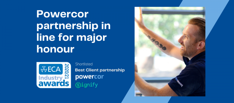 Powercor shortlisted for ECA Award with partner Signify